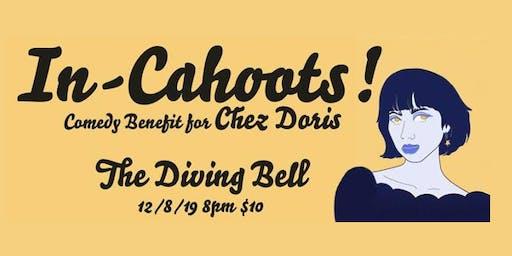 In Cahoots! Fundraiser for Chez Doris Women's Shelter