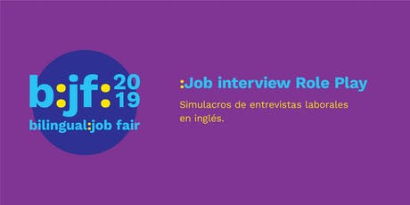 B:jf:: Job Interview Role Play tickets