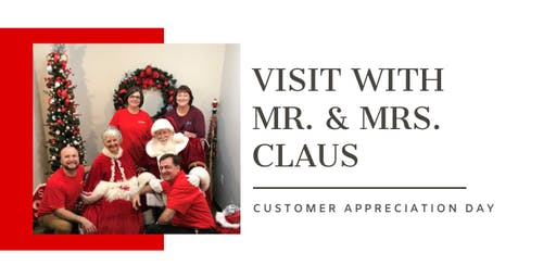 VISIT WITH SANTA // Customer Appreciation Day