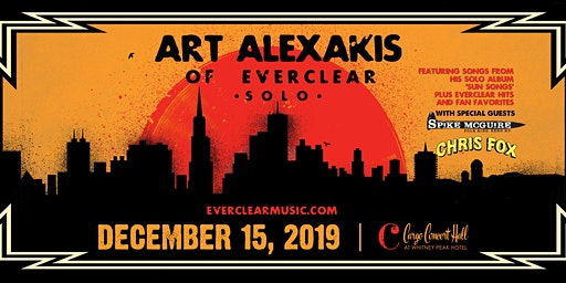 *Canceled* Art Alexakis w/ Chris Fox & Spike McGuire at Cargo Concert Hall