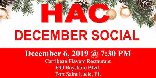 HAC December Social Networking