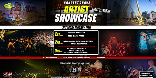 CONCERT CRAVE: ARTIST SHOWCASE