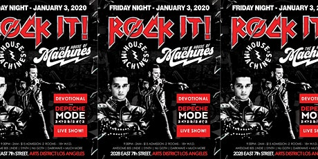 Devotional - Tribute to Depeche Mode at The House of Machines tickets