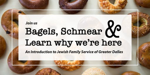 Bagels, Schmear and Learn why we're here