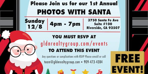 GLDN Pictures with Santa - FREE EVENT