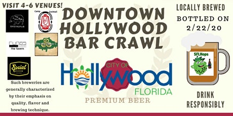Downtown Hollywood Bar Crawl tickets