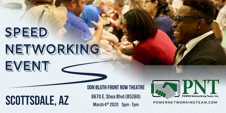 03/04/20 - PNT Scottsdale Chapters -  Small Business Speed Networking Event tickets