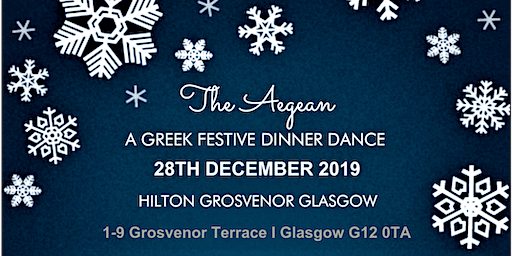 'The Aegean' - A Festive Dinner Dance