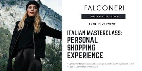 Falconeri & NYC Fashion Coach: Personal Shopping Experience tickets