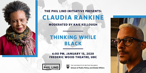 The Phil Lind Initiative Presents: Claudia Rankine