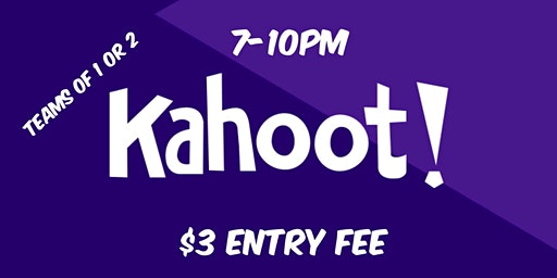 Kahoot Trivia Night