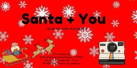 Santa + You - Pictures with Santa tickets