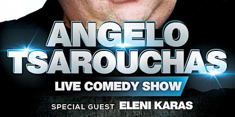 Angelo Tsarouchas Live Comedy Show tickets