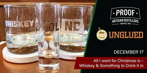 All I want for Christmas is - Whiskey & Something to Drink it in
