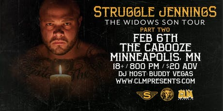 Struggle Jennings at Cabooze (Minneapolis) - Feb 6th tickets