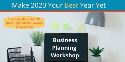 Business Planning 2020 Workshop
