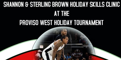 Shannon & Sterling Brown Holiday Skills Clinic at PW Holiday Tournament