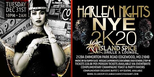 NEW YEAR'S EVE 2020 Harlem Nights