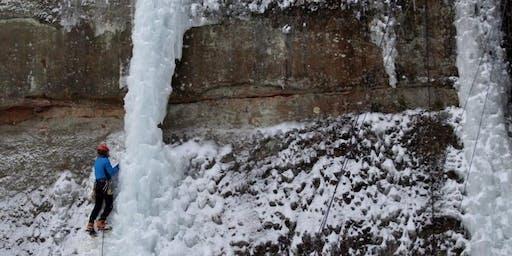 Intermediate Ice Climbing Session 1- Friday, January 3 12:00 pm