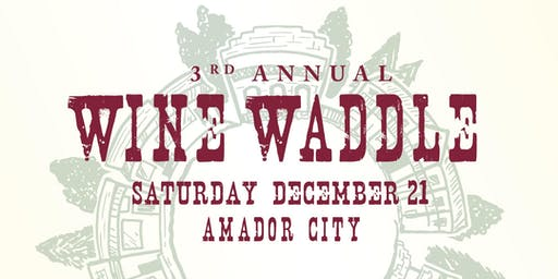 3rd Annual Wine Waddle!