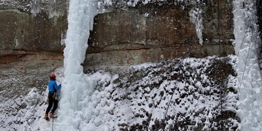 Intermediate Ice Climbing Session 2- Saturday, January 4 9:30 am