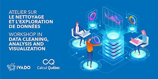 Atelier sur le nettoyage et l'exploration de données - Calcul Québec/IVADO