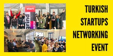 Turkish Startups Networking Event tickets