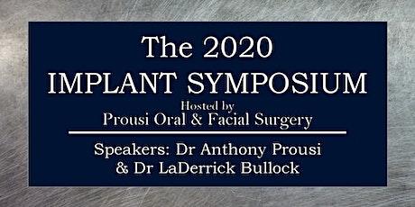 2020 Implant Symposium tickets