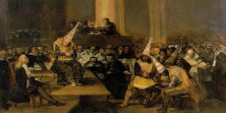 Free Tour Inquisición Española. Herejías y ajusticiamientos entradas