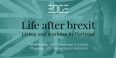 Life after Brexit: Living and Working in Portugal bilhetes