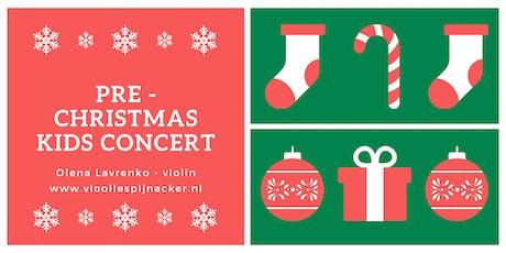 Pre - Christmas Kids Concert tickets