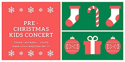 Pre - Christmas Kids Concert