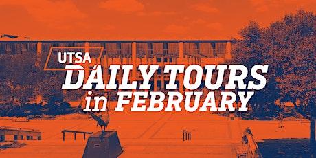 UTSA Daily Tours - February 2020 tickets