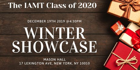 IAMT Class of 2020 Winter Showcase tickets