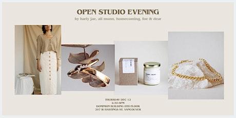 Open Studio Evening tickets