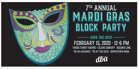 7th Annual Mardi Gras Block Party & Cajun Cook-off  tickets