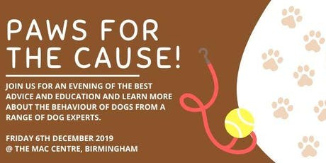 Paws For The Cause tickets