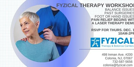 Fyzical Therapy Workshop for Adults, Parents, & Grandparents