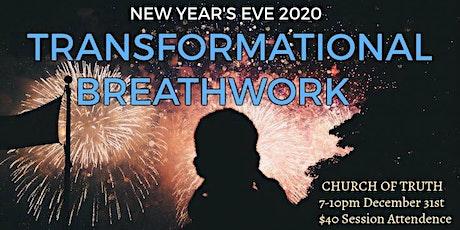 NYE 2020 Transformational Breathwork Experience tickets
