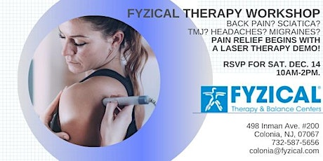 Fyzical Therapy Workshop for Professionals, Adults, Athletes tickets