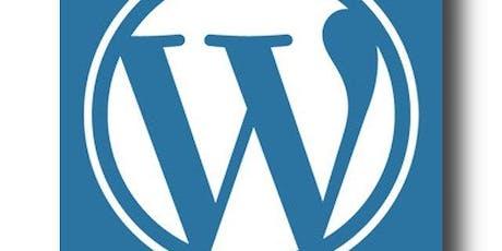 FREE WordPress Workshop tickets