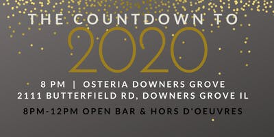 New Years Eve 2020 Party @ Osteria  DoubleTree
