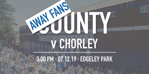 Away Fans - #StockportCounty vs Chorley F.C.