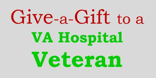 Give-a-Gift to a VA Hospital Veteran