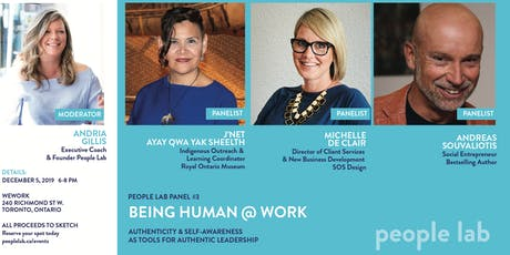 People Lab Panel: Being Human @ Work tickets