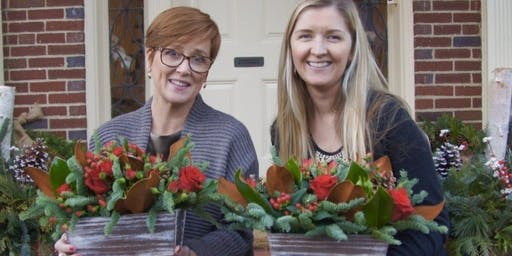 Holiday Blooms and Eats at Reese and Riley's Olive Oil and Bistro Bar