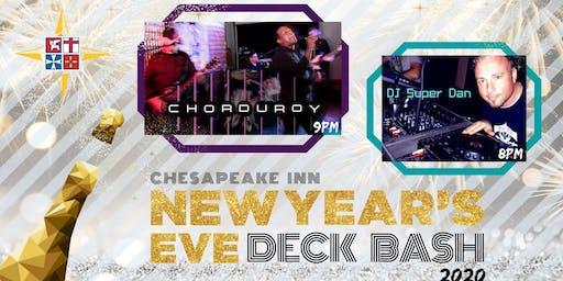 New Years Deck Bash 2020 at Chesapeake Inn