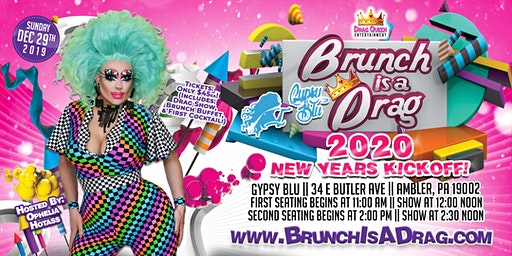 Brunch is a Drag - 2020 New Years Kick Off