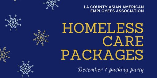 Homeless Care Package Packing Party