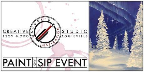Paint & Sip | Aurora Winter tickets